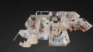 Dollhouse view